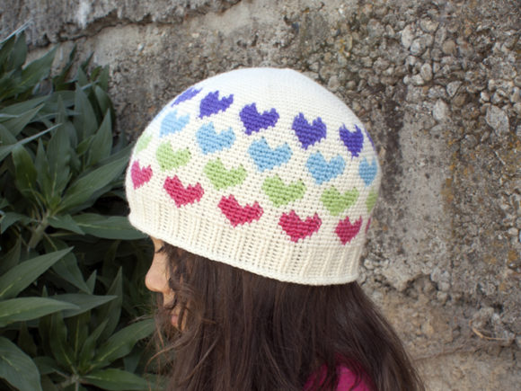 Hearts Abound Beanie Crochet Pattern Graphic Crochet Patterns By Knit and Crochet Ever After