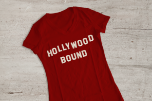 Hollywood Bound Vacation Embroidery Design By DesignedByGeeks