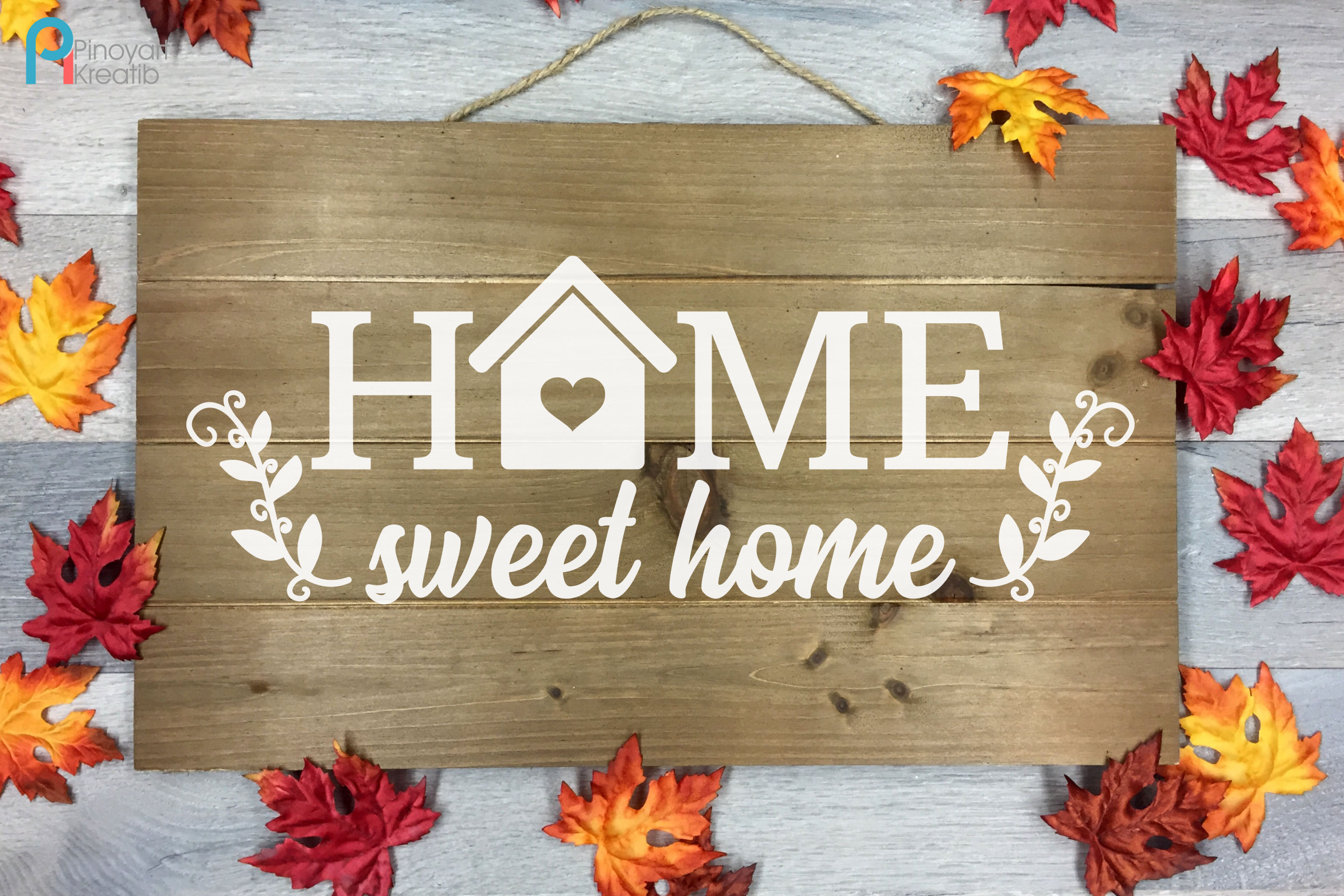 Download Free Home Sweet Home Graphic By Pinoyartkreatib Creative Fabrica for Cricut Explore, Silhouette and other cutting machines.