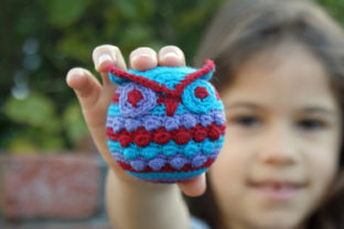 Hootie Who Owl Ornament Graphic Crochet Patterns By Knit and Crochet Ever After