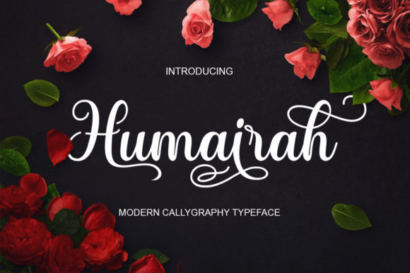Print on Demand: Humairah Script & Handwritten Font By siwah.wah52