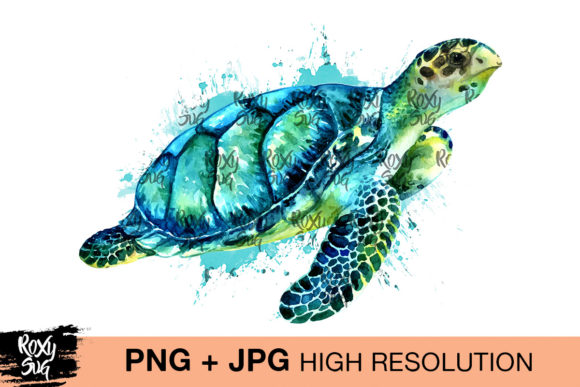 Print on Demand: Jade Turtle Graphic Crafts By roxysvg26