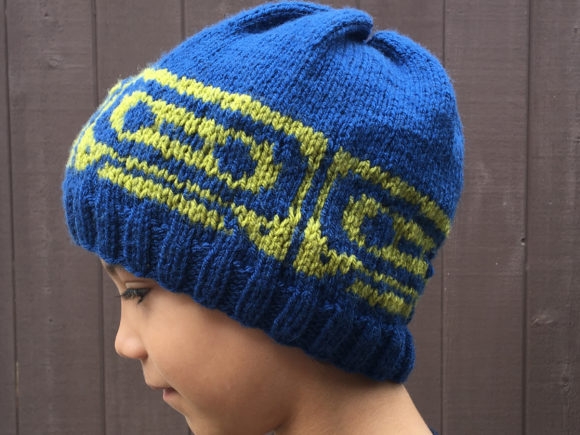 Knit Mix Tape Beanie Pattern Graphic Knitting Patterns By Knit and Crochet Ever After