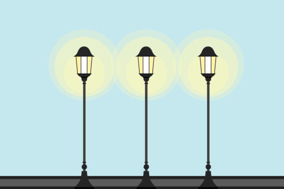 Download Free Lamp Vector Background Graphic By Designcommander62 Creative for Cricut Explore, Silhouette and other cutting machines.