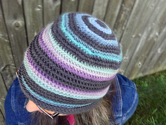 Lucy Beanie Crochet Pattern Graphic Crochet Patterns By Knit and Crochet Ever After - Image 1