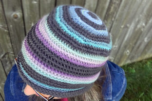 Lucy Beanie Crochet Pattern Graphic Crochet Patterns By Knit and Crochet Ever After