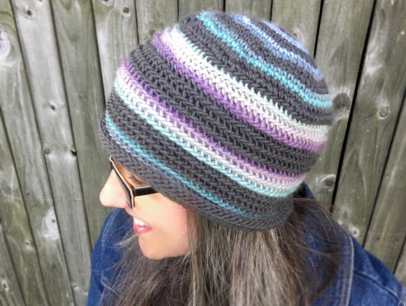 Lucy Beanie Crochet Pattern Graphic Crochet Patterns By Knit and Crochet Ever After - Image 3