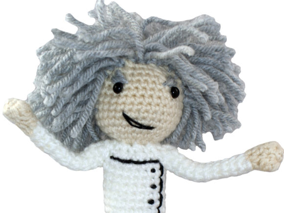Mad Scientist Crochet Pattern Graphic Crochet Patterns By Knit and Crochet Ever After - Image 1