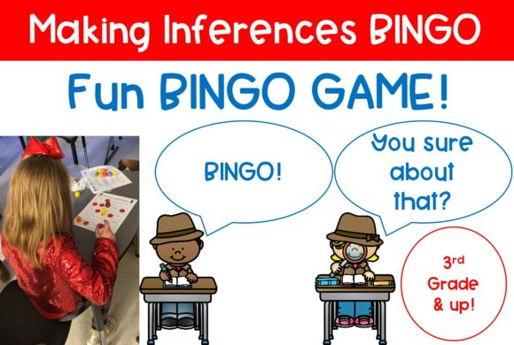 Making Inferences Bingo Graphic Teaching Materials By Reading Teacher On The Run
