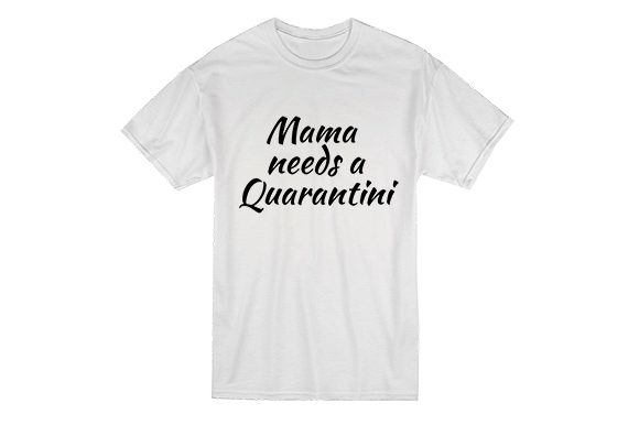 Download Free Mama Needs A Quarantini Graphic By Masyafi Creative Studio for Cricut Explore, Silhouette and other cutting machines.