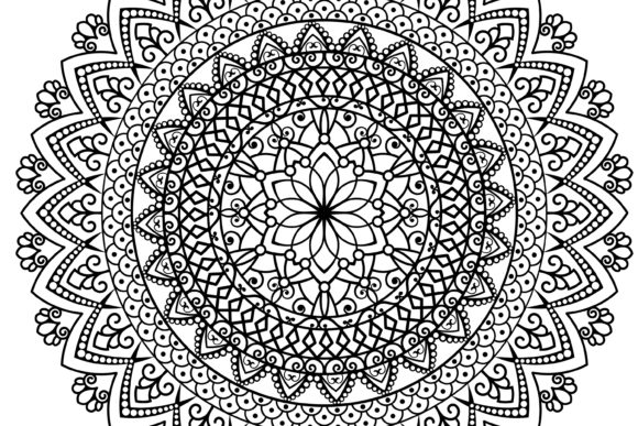 Print on Demand: Mandala Graphic Crafts By FounDream - Image 2