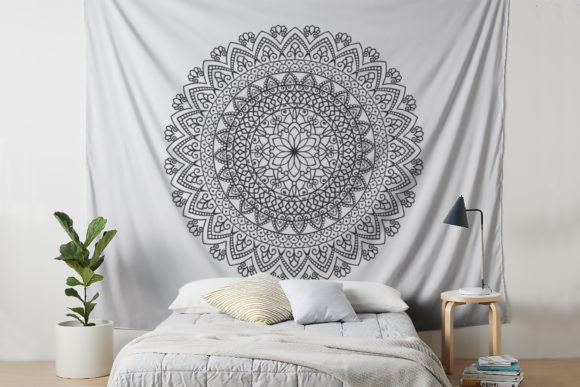 Download Free Mandala Graphic By Foundream Creative Fabrica for Cricut Explore, Silhouette and other cutting machines.