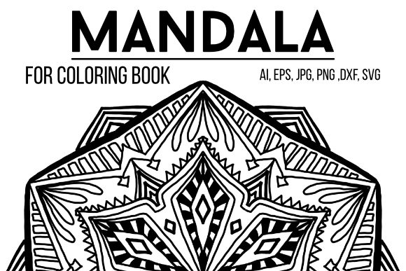 Print on Demand: Mandala Graphics 51 Graphic Coloring Pages & Books By stanosh