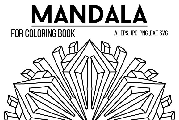 Print on Demand: Mandala Graphics 54 Graphic Coloring Pages & Books By stanosh