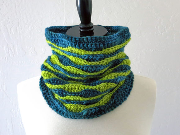 Meadow Cowl Crochet Pattern Graphic Crochet Patterns By Knit and Crochet Ever After