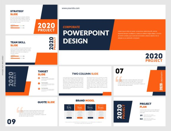 Modern Powerpoint Vector Template Graphic Presentation Templates By lutfyhasan