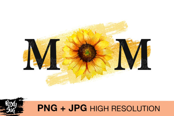 Print on Demand: Mom Graphic Crafts By roxysvg26 - Image 1