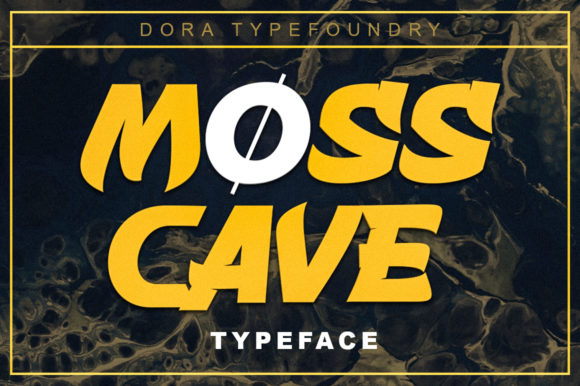 Print on Demand: Mosscave Display Font By doratypefoundry