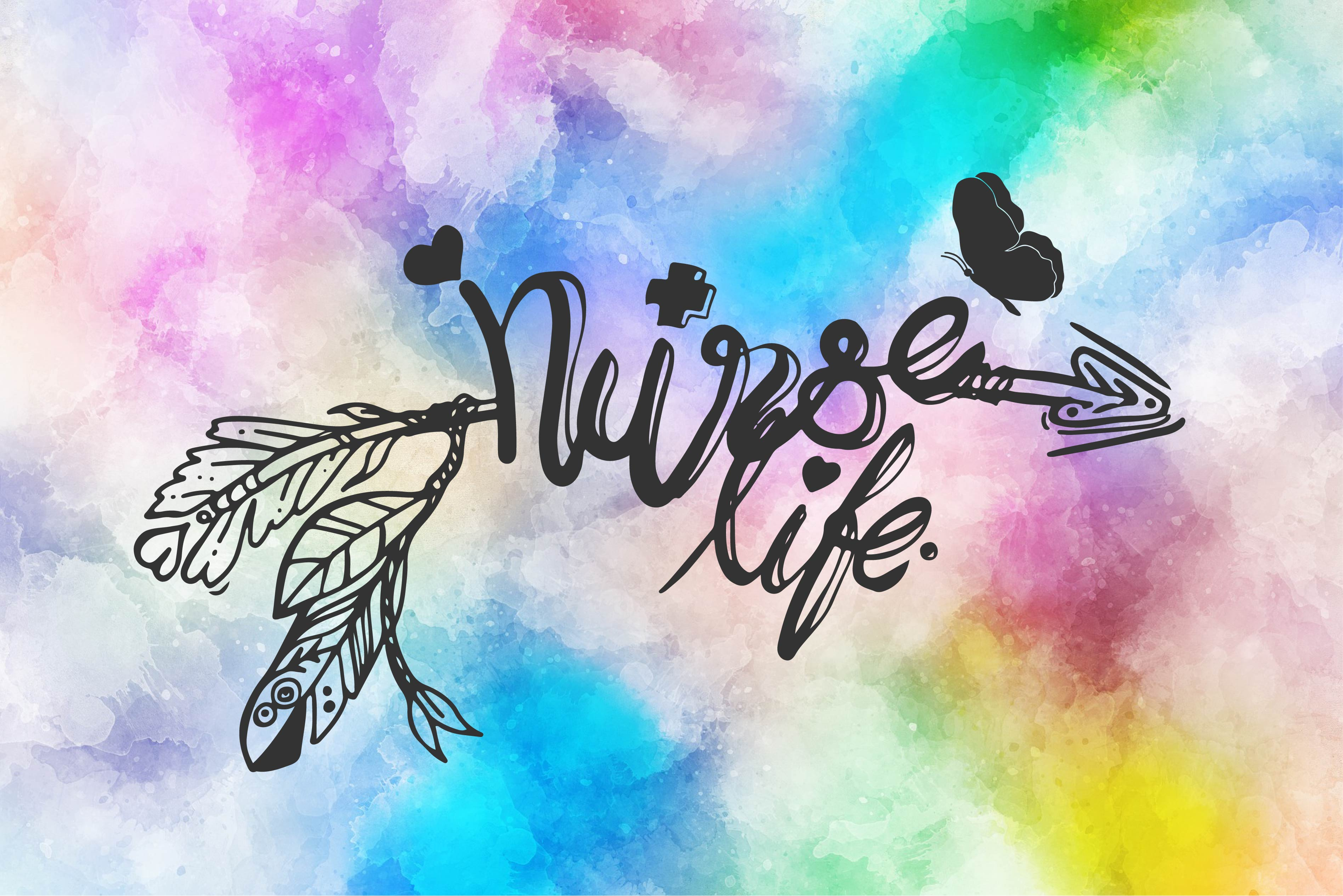 Download Free Nurse Life Graphic By Ktwop Creative Fabrica for Cricut Explore, Silhouette and other cutting machines.