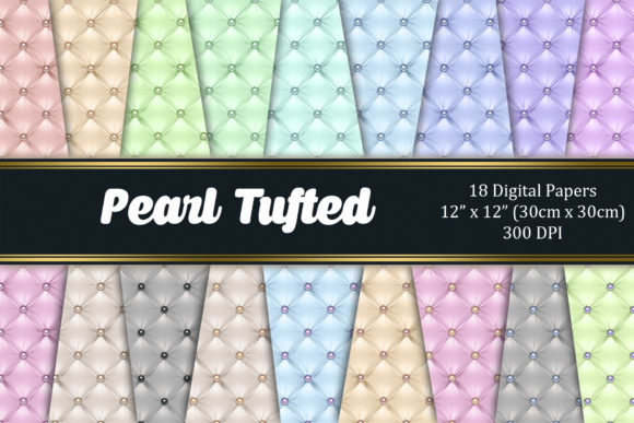 Pearl Tufted Graphic Textures By Tara Artisan
