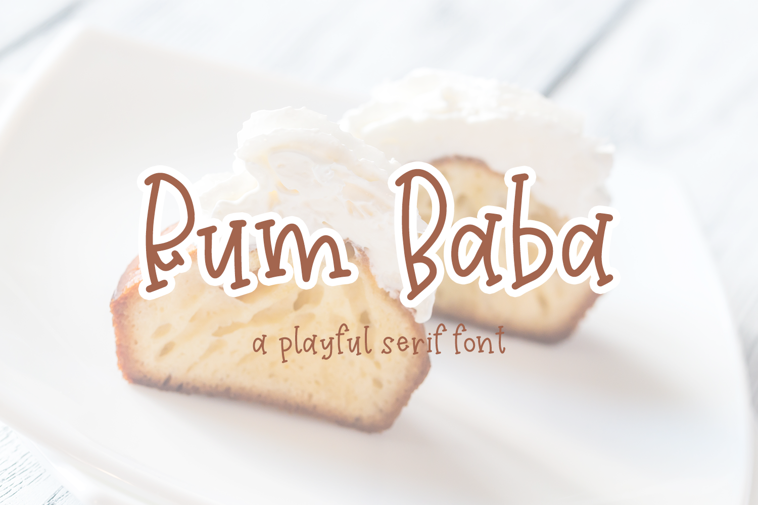 Download Free Rum Baba Font By Craftingfonts Creative Fabrica for Cricut Explore, Silhouette and other cutting machines.