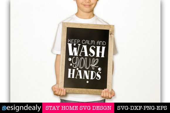 Print on Demand: Stay Home Bundle Graphic Print Templates By Designdealy.com - Image 2