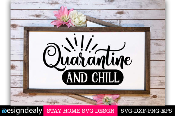 Stay Home Bundle Graphic Item