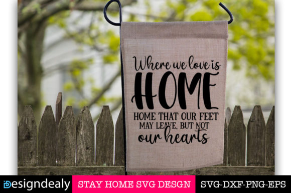 Stay Home Bundle Graphic Image