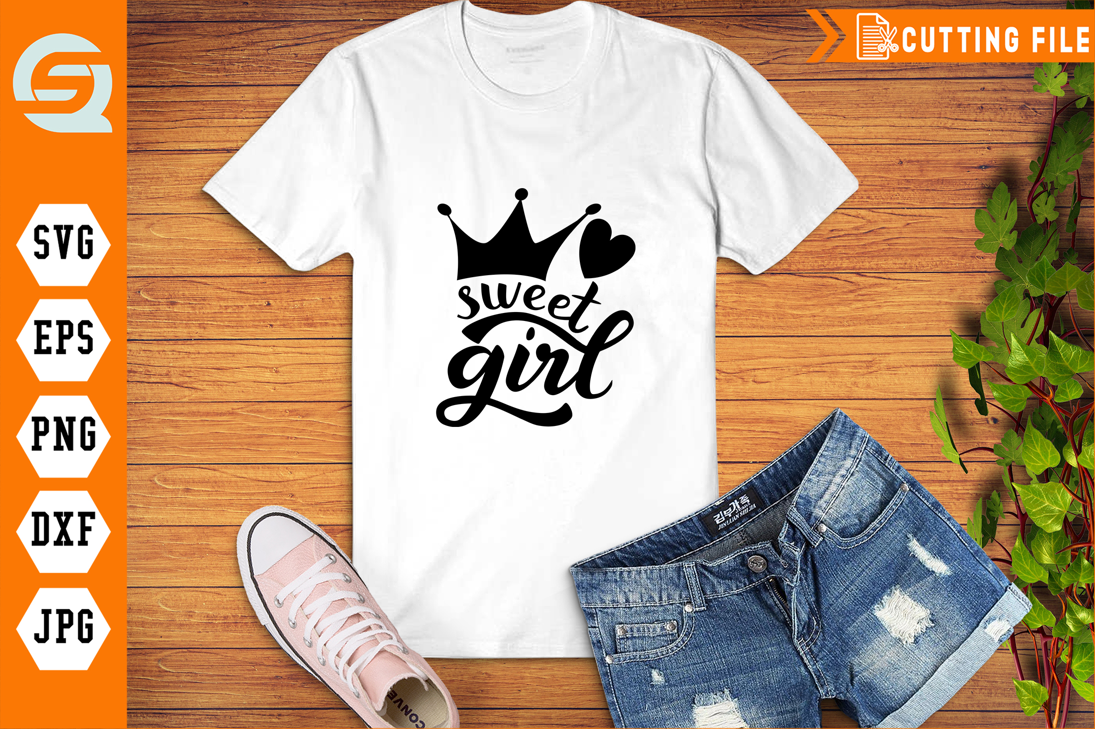 Download Free Sweet Girl Hand Writing Graphic By Qara Studio Creative Fabrica for Cricut Explore, Silhouette and other cutting machines.