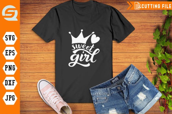 Download Free Sweet Girl Hand Writing Graphic By Qara Studio Creative Fabrica SVG Cut Files