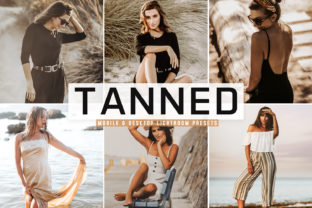 Print on Demand: Tanned Lightroom Presets Pack Graphic Actions & Presets By Creative Tacos
