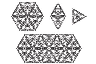 Print on Demand: Tattoo Patterns Pack 1 Graphic Patterns By qkila
