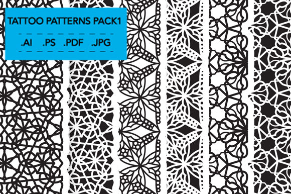 Tattoo Patterns Pack 1 Graphic Item