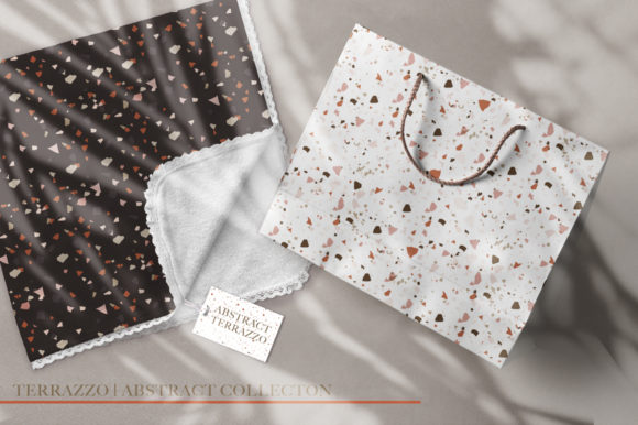 Print on Demand: Terrazzo Abstract Bundle. Graphic Graphic Templates By Red Ink - Image 8