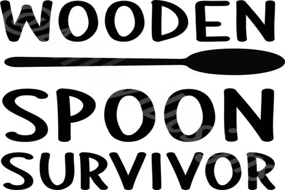 Print on Demand: Wooden Spoon Survivor Graphic Crafts By AshN2014