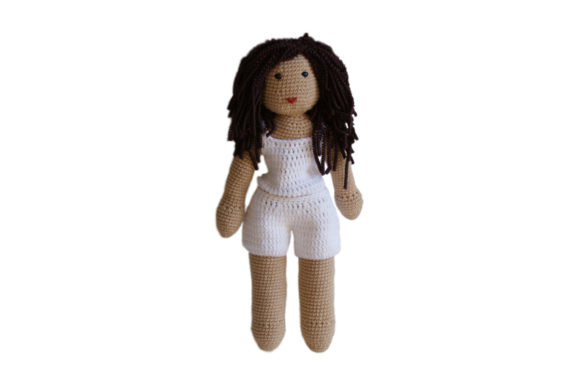 You Make Her Yours Girl Doll Graphic Crochet Patterns By Knit and Crochet Ever After - Image 1