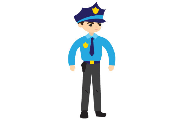 Police Officer Fire & Police Craft Cut File By Creative Fabrica Crafts