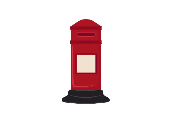 Download Free Red Post Box Svg Cut File By Creative Fabrica Crafts Creative for Cricut Explore, Silhouette and other cutting machines.
