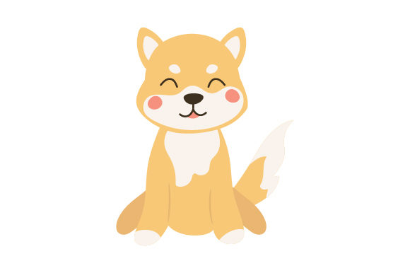 Shiba Inu Dogs Craft Cut File By Creative Fabrica Crafts