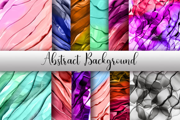 Abstract Background Digital Papers Graphic Backgrounds By PinkPearly