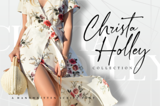 Print on Demand: Anthery Collection Script & Handwritten Font By Vilogsign 10