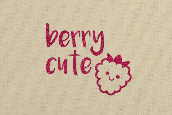 Download Free Berry Cute And Berry Sweet Duo Graphic By Designedbygeeks for Cricut Explore, Silhouette and other cutting machines.