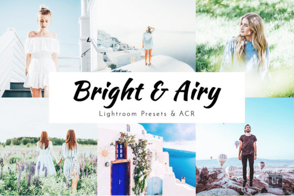 Download Free Bright Airy Lightroom Presets Grafico Por Pixelhivepro for Cricut Explore, Silhouette and other cutting machines.