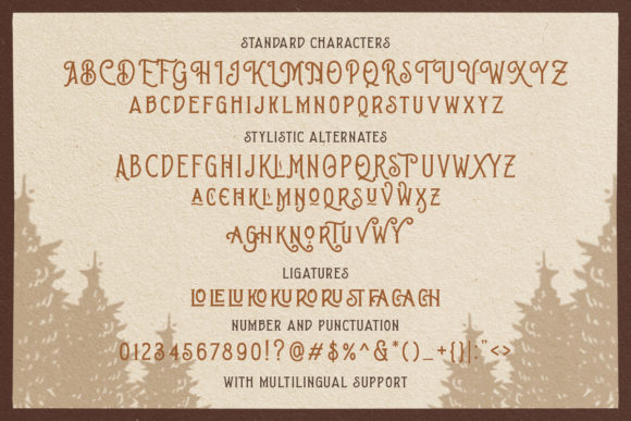 Print on Demand: Brown Chunkers Display Font By letterhend - Image 9