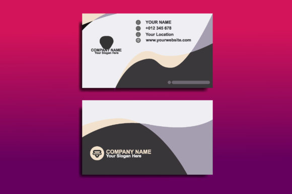 Business Card Design Template Graphic Print Templates By sartstudio