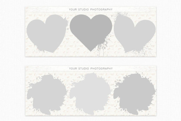 Download Free Collage Facebook Cover Template Graphic By Designitfor Creative Fabrica for Cricut Explore, Silhouette and other cutting machines.
