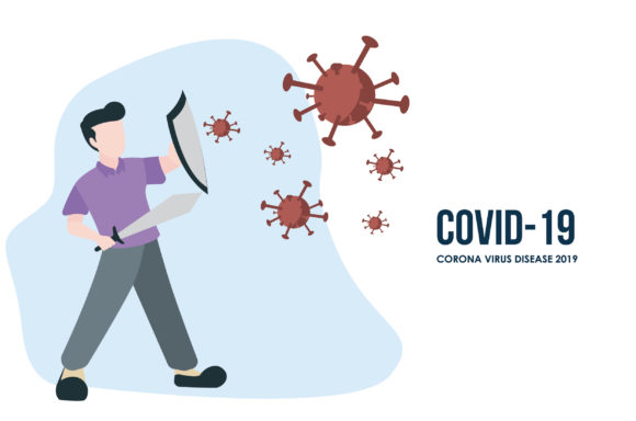 Covid 19 Fight Graphic By After Break Creative Fabrica