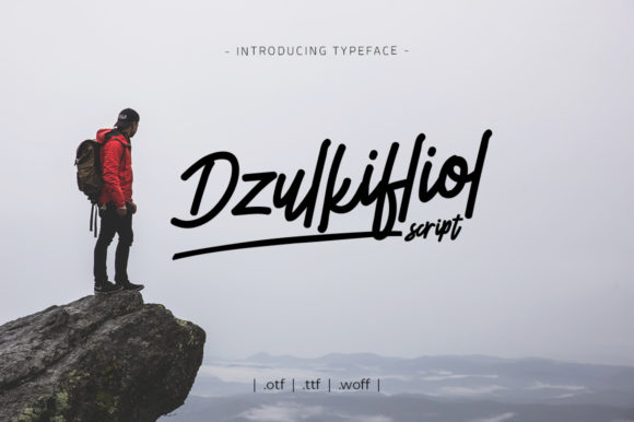 Download Free Dzulkifliol Font By Yantodesign Creative Fabrica for Cricut Explore, Silhouette and other cutting machines.