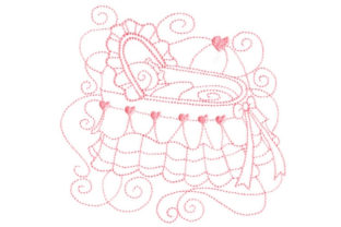 Enchanted Baby Bed & Bath Embroidery Design By Sookie Sews