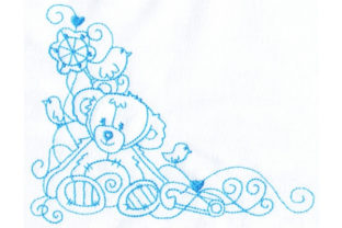 Enchanted Baby Teddy Bears Embroidery Design By Sookie Sews